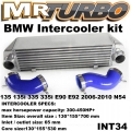 INT34 INTERCOOLER KIT for BMW 135 135i 335 335i E90 E92 2006-201