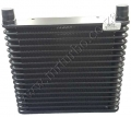 OC04 17 ROW 32MM BLACK OIL COOLER