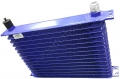 OC05 15 ROW BLUE OIL COOLER
