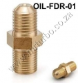OIL-FDR-01 AN4 Oil Restrictor Adpter Fitting For GT28/GT30/GT35R
