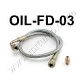 """OIL-FD-03 24"""" Oil Line Kit For T3/T4 Turbo Oil Feed Line Kit"""