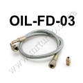 "OIL-FD-03 24"" Oil Line Kit For T3/T4 Turbo Oil Feed Line Kit"