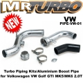PIPE-VW-01 VW Golf GTI MK5/MK6 2.0T Aluminium Boost Pipe KI