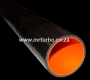 SIL04B 63mm 4ply 1meter BLACK Silicone pipe
