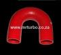 SIL180DEG35 35mm 180deg 3ply bend RED