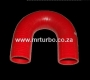 SIL180DEG35 35mm 180deg 3ply bend RED