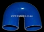 SIL180DEG76 76mm 180deg 3ply bend