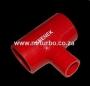 SILT50R 50-25-50mm T Piece Red