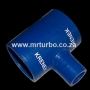 SILT63 63-25-63mm T Piece Blue
