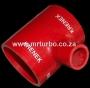 SILT76R 76-25-76mm T Piece Red
