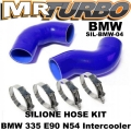 SIL-BMW-04 Silicone hose KIT for BMW 335 E90 N54 Intercooler