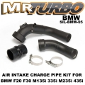 SIL-BMW-05 Air Intake Charge Pipe Kit For BMW F20 F30 M135i 335i