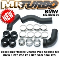 SIL-BMW-06 Boost pipe+Intake Charge Pipe Cooling kit  BMW 1 F20