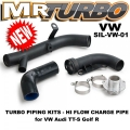 SIL-VW-01 TURBO PIPING KITS - HI FLOW CHARGE PIPE for VW Audi TT