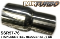 SSR57-76 SS REDUCER 57-76 OD
