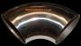 "SSB05 100mm 4"" Stainless Steel 90deg Bend"