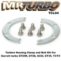 TCL04 Turbine Housing Clamp and Bolt Kit For Garrett turbo GT25R