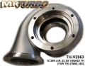 TH-V2863 GT28R A/R .63 SS V-BAND TH (FOR TW 47MM) 3652