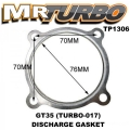 TP1306 GT35 (TURBO-017) DISCHARGE GASKET