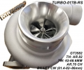 TURBO-017B-RS TURBO GTX3582 BILLET (TH.82 TW62MM-28MM)  (CW62MM-