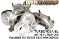 TURBO-033A-SL  TURBO WITH AC VW/AUDI TDI BV39A 5439-970-0020/22