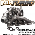 TURBO-039A-RS VW/AUDI 2.0T FSI WITH ACC VW/AUDI 2.0T FSI