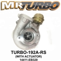 TURBO-192A-RS TURBO NISSAN NAVARA 14411-EB320 (WITH ACTUATOR)