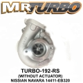 TURBO-192-RS TURBO NISSIAN NAVARA YD25 2005 OIL COOLED 14411-EB3