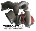 TURBO-272-U BMW STAGE 3 N54 UPGRADED TURBO RIGHT/FRONT