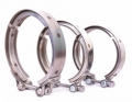 "VC2.0 V BAND CAMP 2.0"" STAINLESS STEEL TURBO FOR TURBO EXHAUST D"
